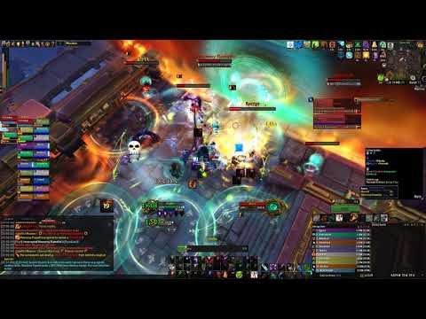 Jadefire Masters Mythic - Destruction Warlock PoV