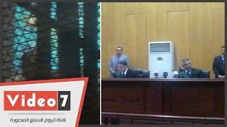 بالفيديو..إحالة فنى الصوت بمحكمة أكاديمية الشرطة للتحقيق ورفع جلسة