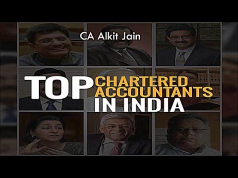 Famous Chartered Accountants in India : Inspirational Video