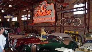 HOT ROD MADNESS GETS A TOUR OF COKER MUSEUM