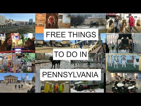 Free Things to do in Pennsylvania