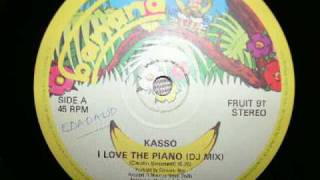 i love the piano - Kasso 1984 italo disco