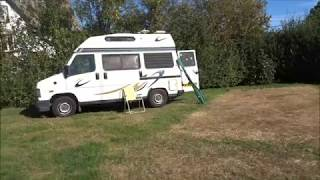 Porlock Hikes Trip, Part I, 'Arrival At The Camp Site' by Sheila, September 24th 2018