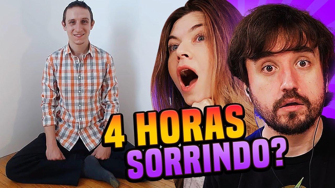 4 HORAS SORRINDO?! - O LADO ESTRANHO DO YOUTUBE!