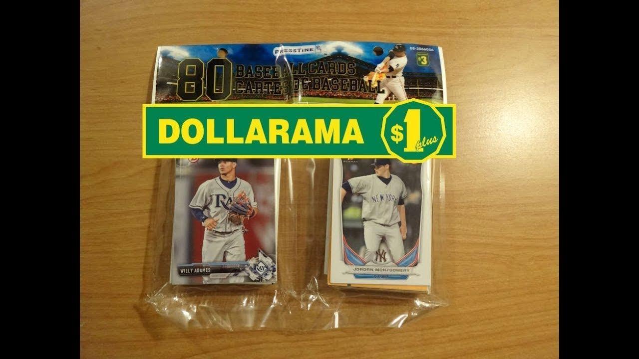 Pack Opening 62 Dollarama 80 Pack Of Baseball Cards