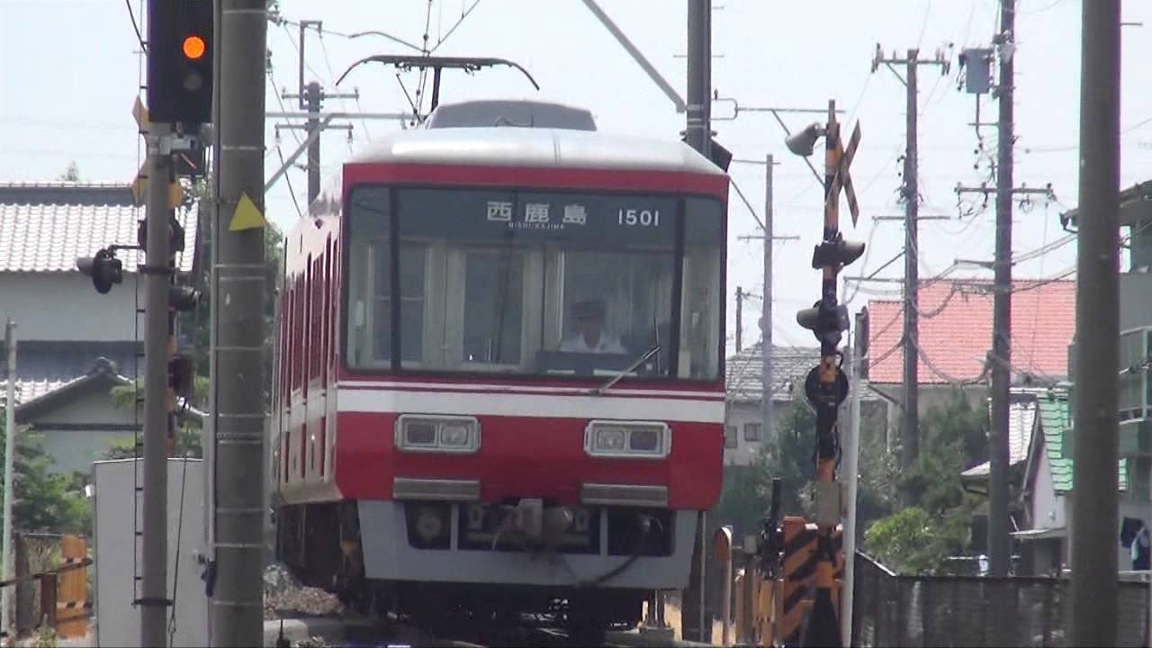 遠州鉄道の「赤電」走行シーン・...