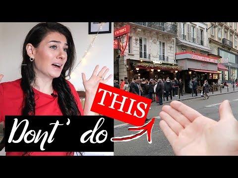 BIGGEST PARIS travel MISTAKES NOT to make   TRAVEL VLOG IV
