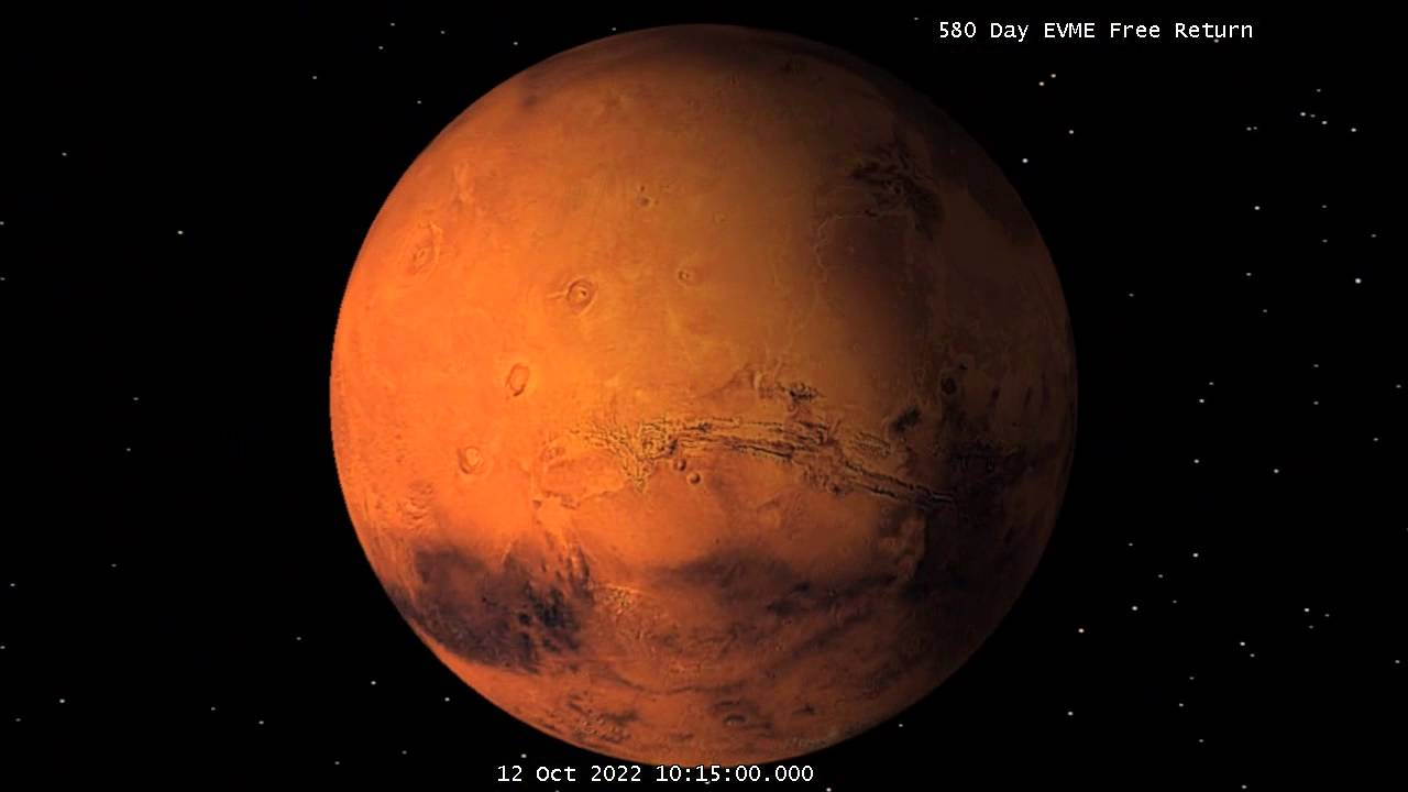 2021 Earth-Venus-Mars-Earth Free Return Trajectory - YouTube
