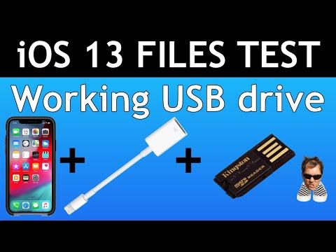 Low Power USB For Apple Lightning Camera Adapter IOS IPadOS 13