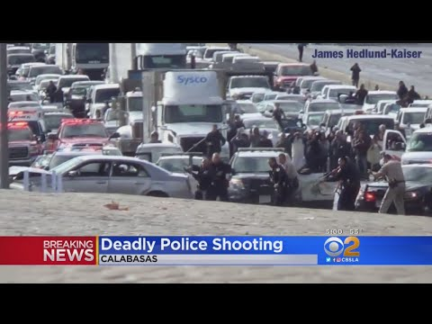 Deadly Police Shooting Backs Up Traffic On 101