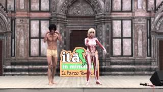 italia in cosplay 2014 bhc shingeki no kyojin eren mikasa titan