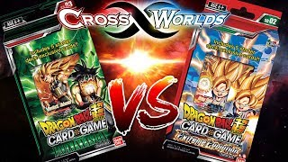 BATTLE OF THE STARTER DECKS! Dragon Ball Super Card Game