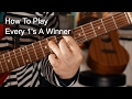 Everyone's A Winner - Hot Chocolate - Riff and Chords Guitar Lesson
