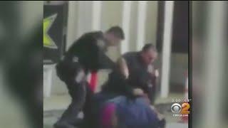Police Seen Breaking Man