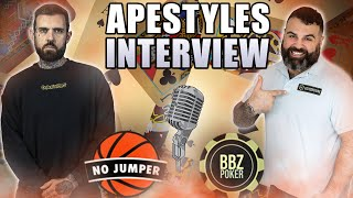 The Apestyles Interview: Making Millions from Poker, Getting Shot, Addiction & More