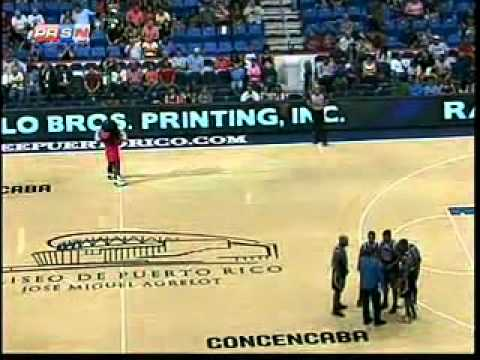 Puerto Rico vs Panama Centrobasket 2012 Part-1