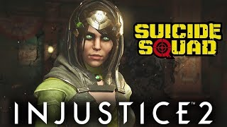 Injustice 2: Enchantress Vs Suicide Squad | All Intro/Interaction Dialogues & Clash Quotes