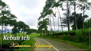 Amazing mountain road Kabawetan Bengkulu Indonesia