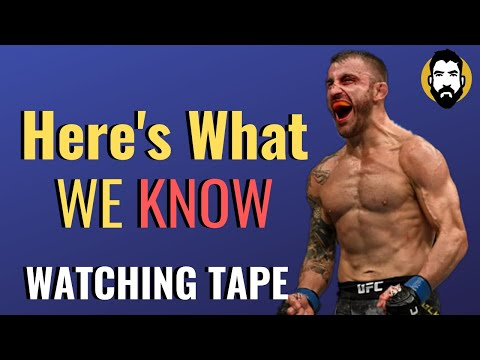 How Good Is Alexander Volkanovski's Striking? | Watching Tape | Luke Thomas