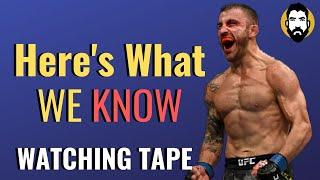 How Good Is Alexander Volkanovski's Striking? | Watching Tape | Luke Thomas
