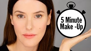 My 5 Minute Makeup Look