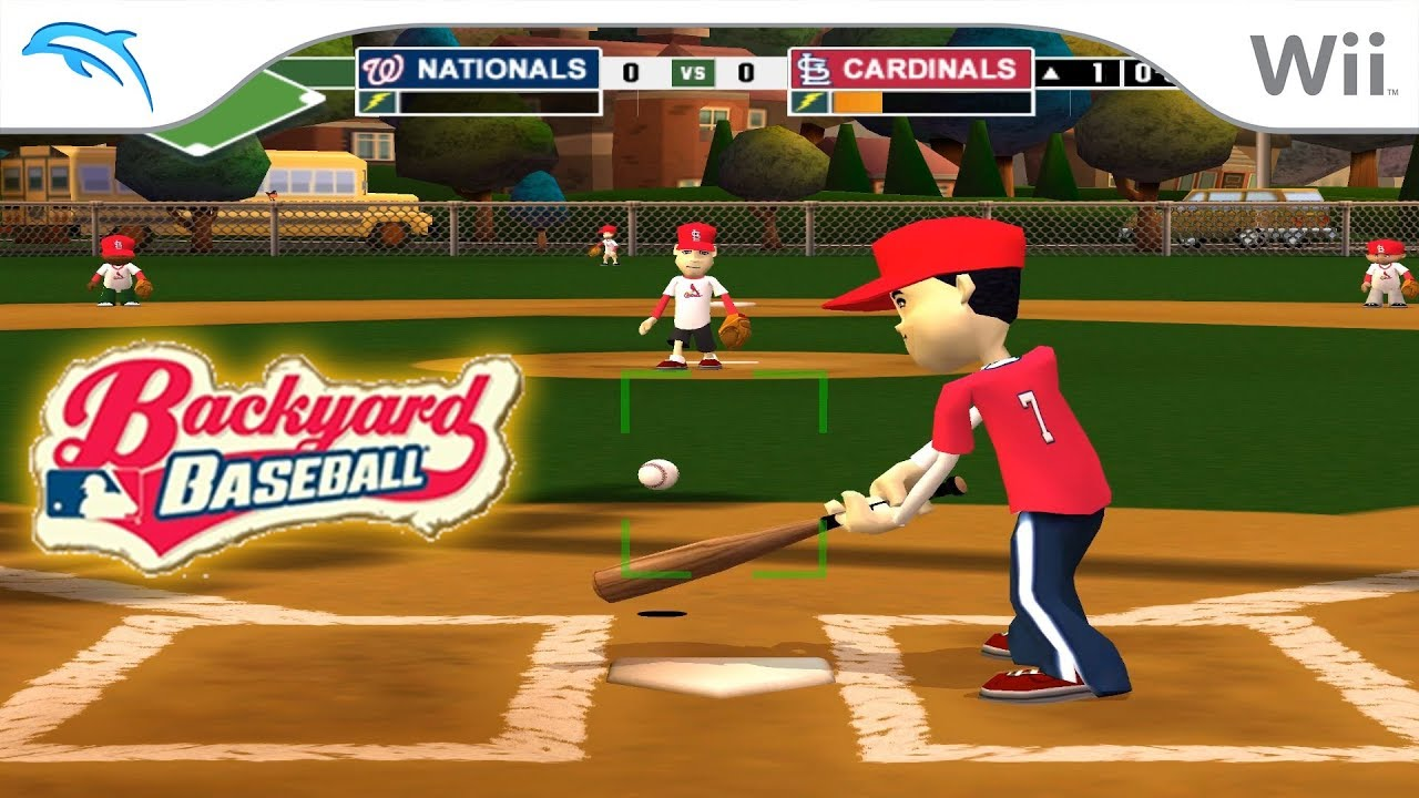 Backyard Baseball '09 | Dolphin Emulator 5.0-8490 [1080p ...