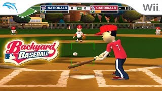 Backyard Baseball '09 | Dolphin Emulator 5.0-8490 [1080p HD] | Nintendo Wii