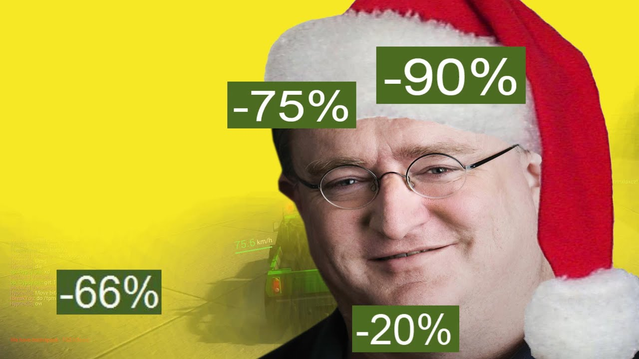 STEAM CHRISTMAS SALE 2014 - YouTube