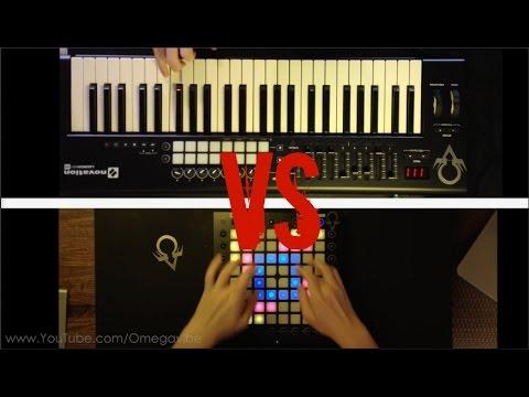 Launchpad VS Launchkey  Für Elise Dubstep Remix Kaskobi Remake