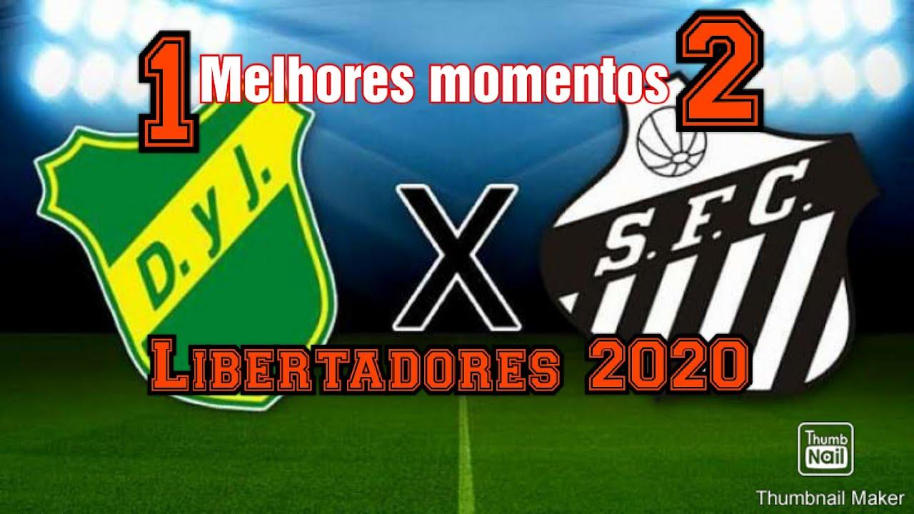 Defensa Y Justicia 1 X 2 Santos Libertadores 2020