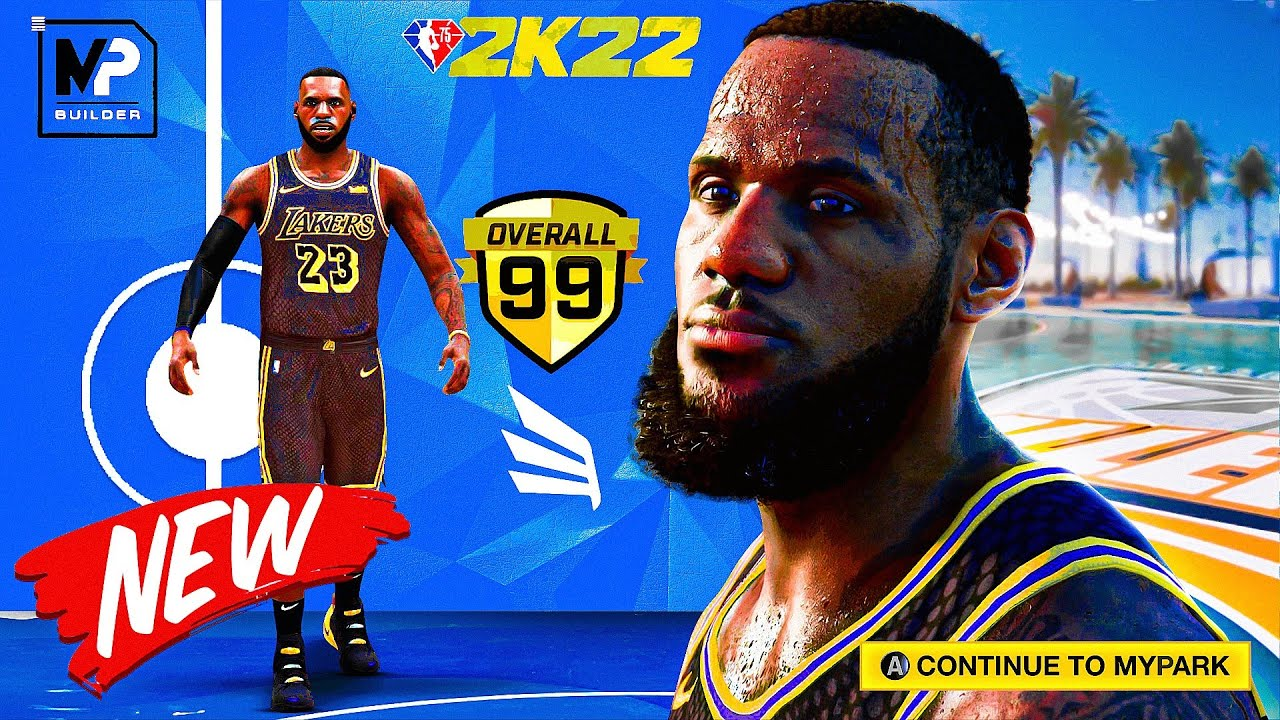 The NBA 2K22 MYPLAYER BUILDER...