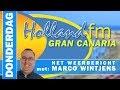 DONDERDAG: 29-06-2017 | 't HOLLAND FM Gran Canaria weerbericht
