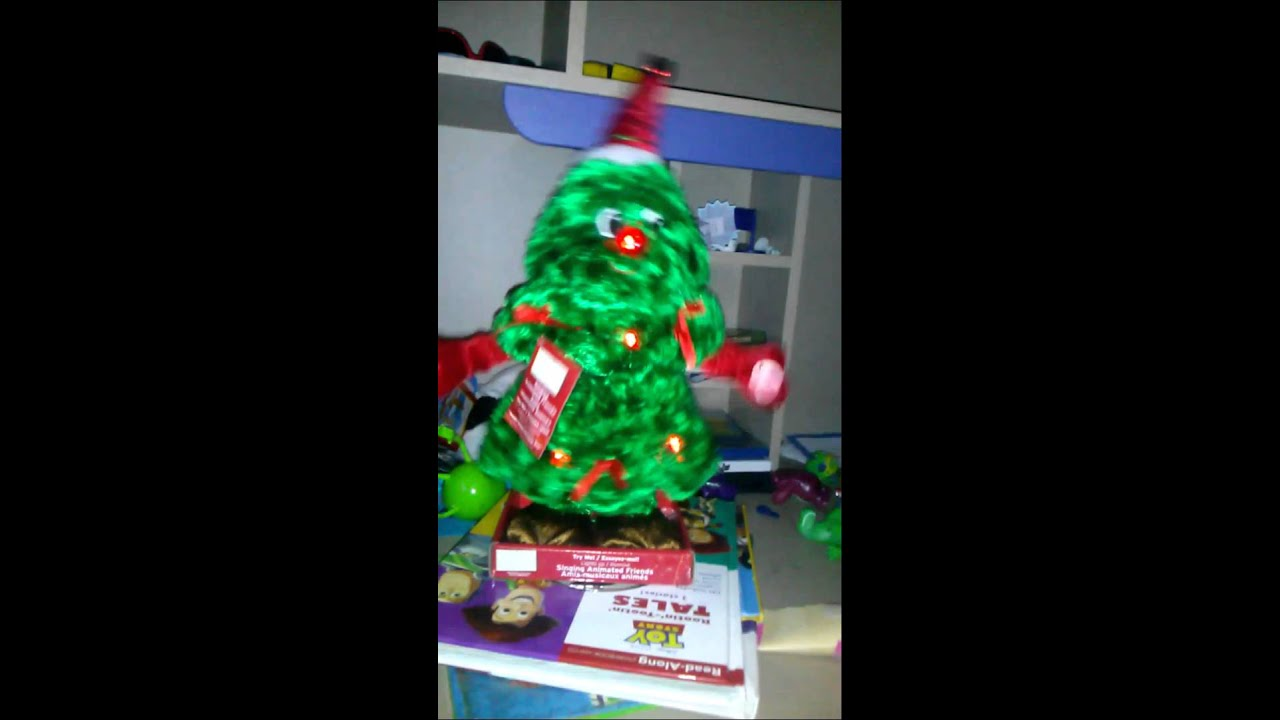 dandee dancing christmas tree