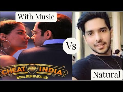 Dil Mein Ho Tum | Without Music Vs Music | Armaan Malik | Cheat India