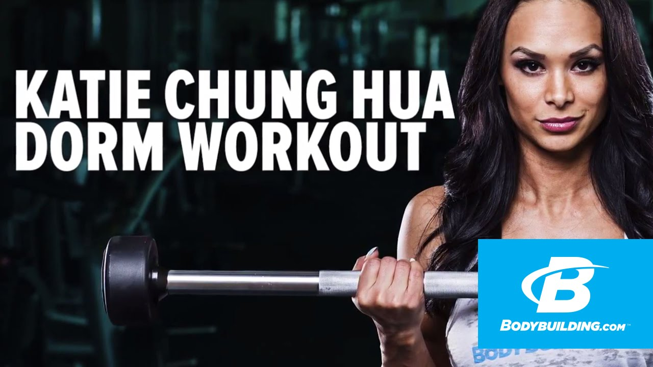 Upper Body Dorm Room Workout | Katie Chung Hua   YouTube