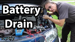 How to Fix Battery Drain in Your Car (Parasitic Draw Test) | Scotty Kilmer thumbnail