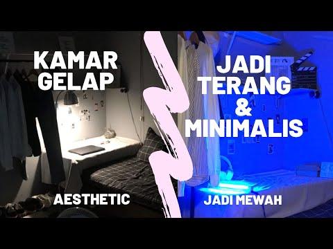 extreme-make-over-kamar-tidur-3x4---aesthetic-room-2020-||semua-serba-beli-di-shopee(indonesia🇮🇩)