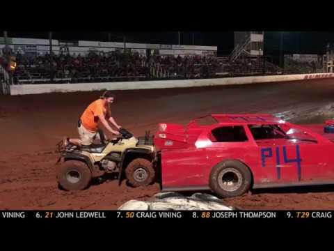 Sumter Speedway Recap 8/11/2018