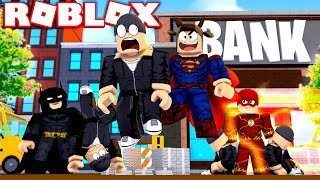 MOOSECRAFT BECOMES A SUPERHERO! (Roblox Superhero Tycoon 2)