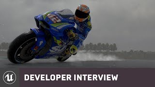 MotoGP 19 by Milestone | E3 2019 Developer Interview | Unreal Engine