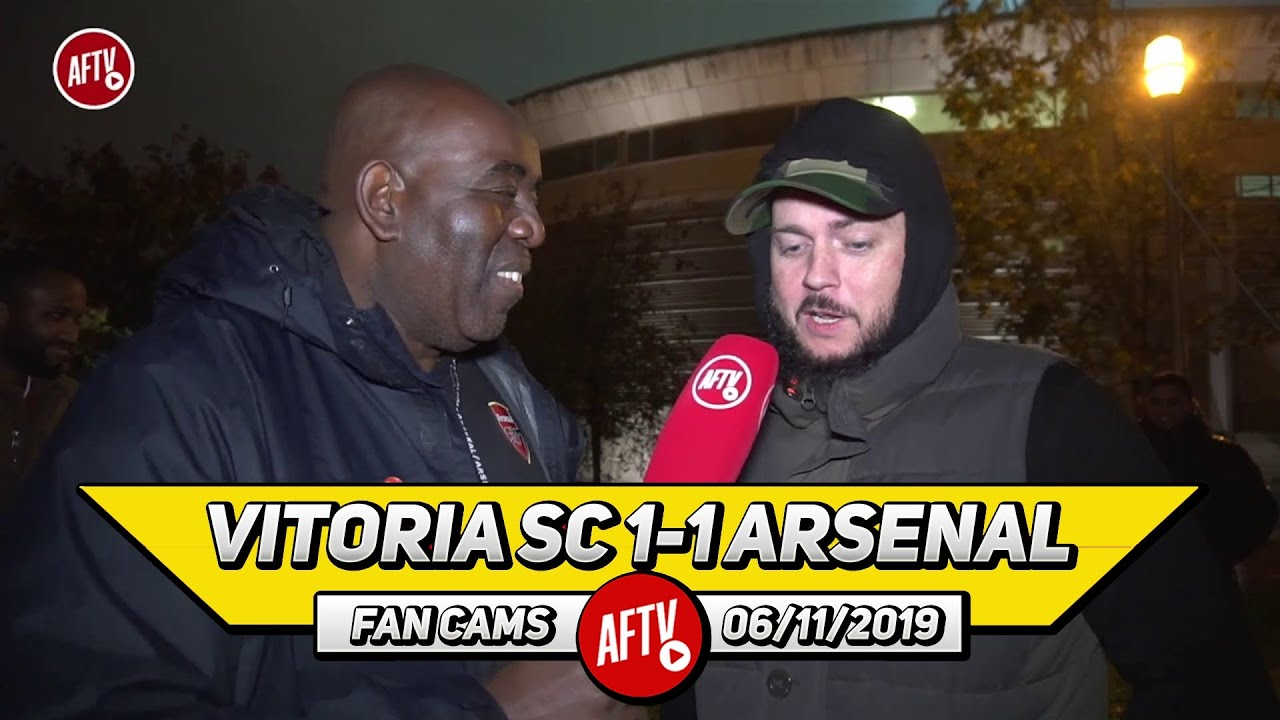 Vitoria SC 1-1 Arsenal | I'd Rather Take Wenger Back Than Get Mourinho! (DT) image