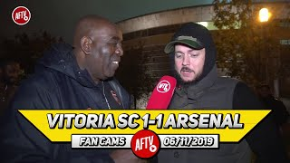 Vitoria SC 1-1 Arsenal | I'd Rather Take Wenger Back Than Get Mourinho! (DT)