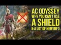 Assassin's Creed Odyssey More Content Than Origins, NO SHIELD & More New Info (AC Odyssey Gameplay)