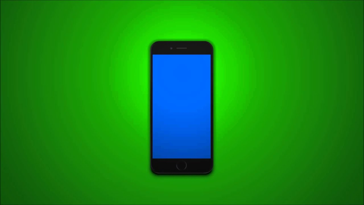 iphone blue screen iphone 6 on a green screen with blue screen iphone 11658