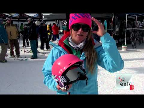 "2013 Shred ""Half Brain"" Ski Helmet Review With Keely Kelleher"