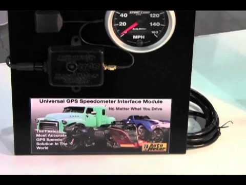 Universal GPS Speedometer Interface from Auto Meter Products