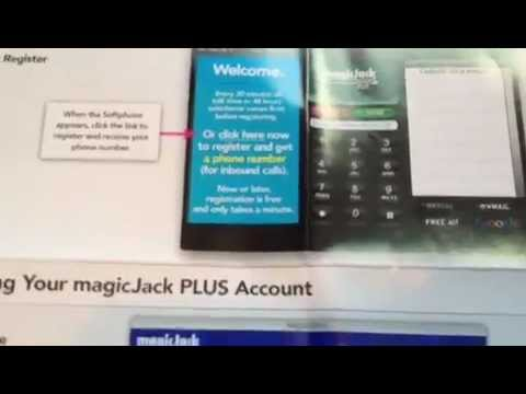 Magic Jack Plus Install Set Up and Activate
