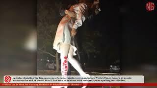 $1,000 Needed To Fix Infamous Sailor Kissing Nurse Statue