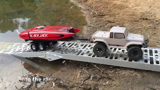 Rc boat Launch (4K)