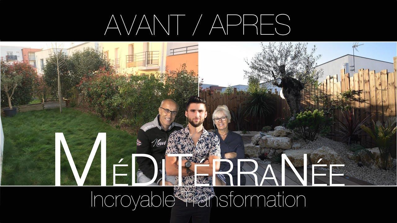 Incroyable transformation de jardin youtube for Jardin youtube